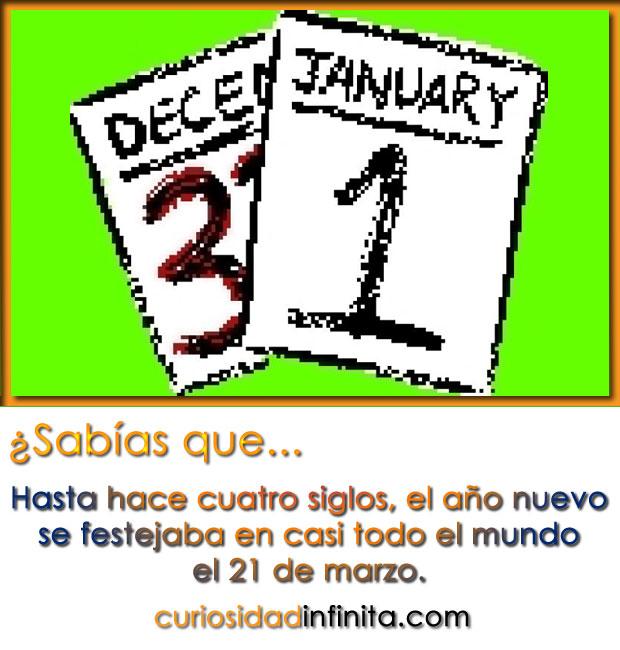 por que celebramos el año nuevo el 1 de enero?