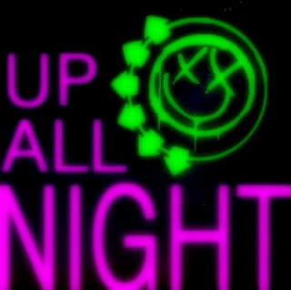 Blink 182 - Up All Night Lyrics