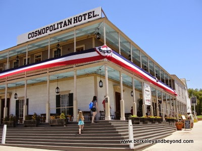 The Cosmopolitan Restaurant and Hotel in Old Town State Historic Park