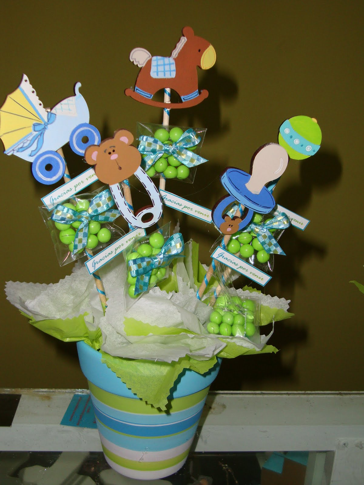 Tiqui titos ideas para decorar un baby shower - Deco boy ...