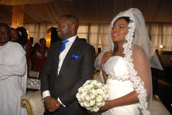 Funke Akindele Wedding Cake