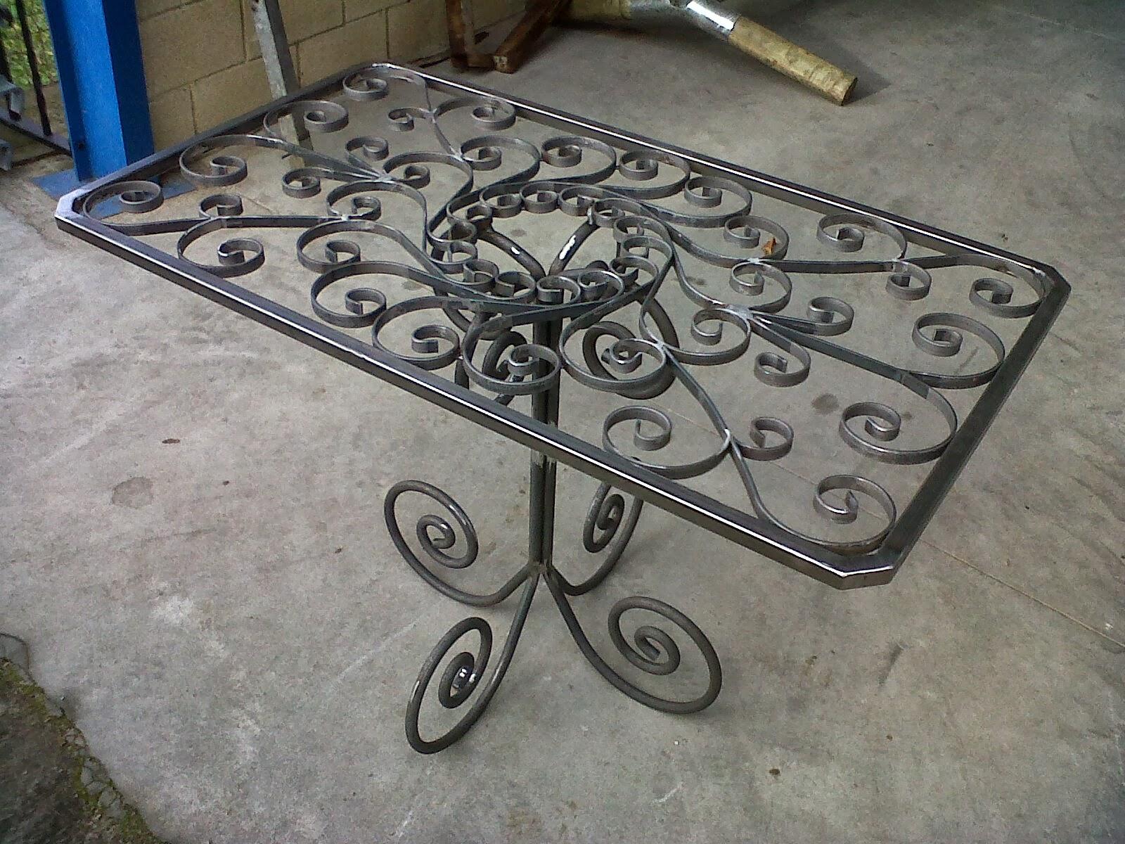 Mallando fierro mobiliario de jard n y descanso - Mobiliario para jardin ...