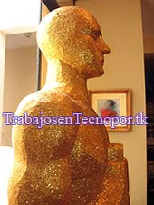 Estatuilla el Oscar en Tecnopor