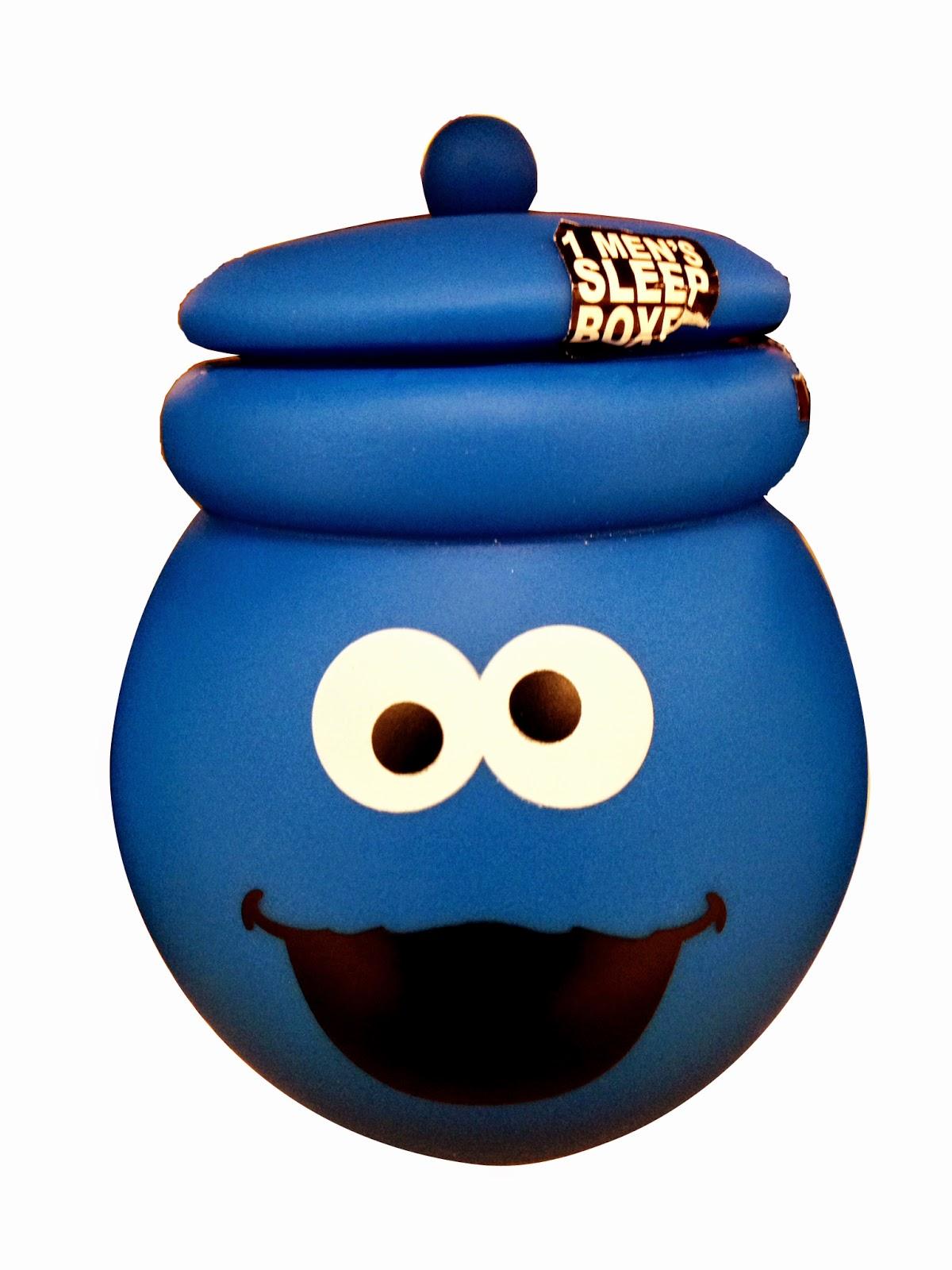 Muppet Stuff Cookie Monster Boxers Cookie Jar