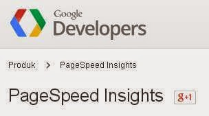 Cara mengetahui kecepatan louding Web blog dengan pagespeed insight