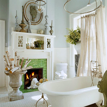 wouldn't mind having this bathroom either! Yes, please. I'll take it