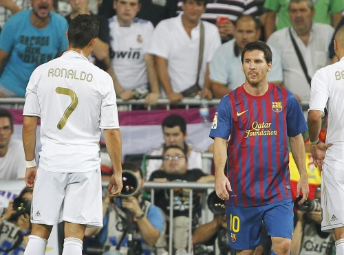 Messi vs Ronaldo wallpapers 2012