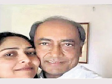 digvijay second marriage son support