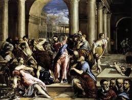 La purificación del templo de Roma
