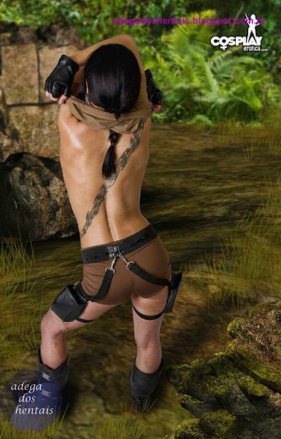 Fotos Cosplay Lara Croft Nua Nude S