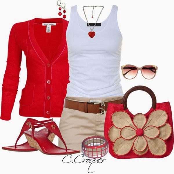 Trendy Red Combination