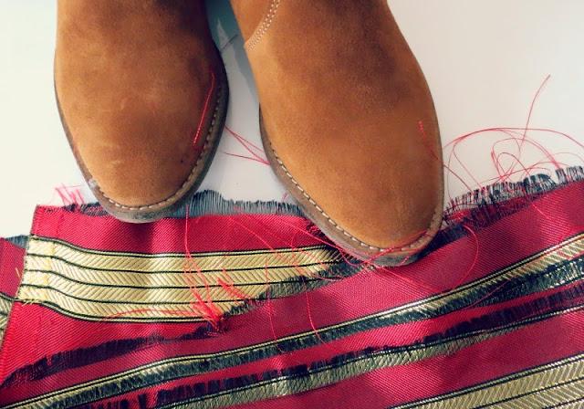DIY: J'ai collé la Tunisie sur mes boots
