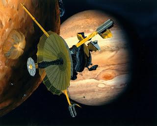 Sonda Espacial Galileo rozó un satélite de Júpiter