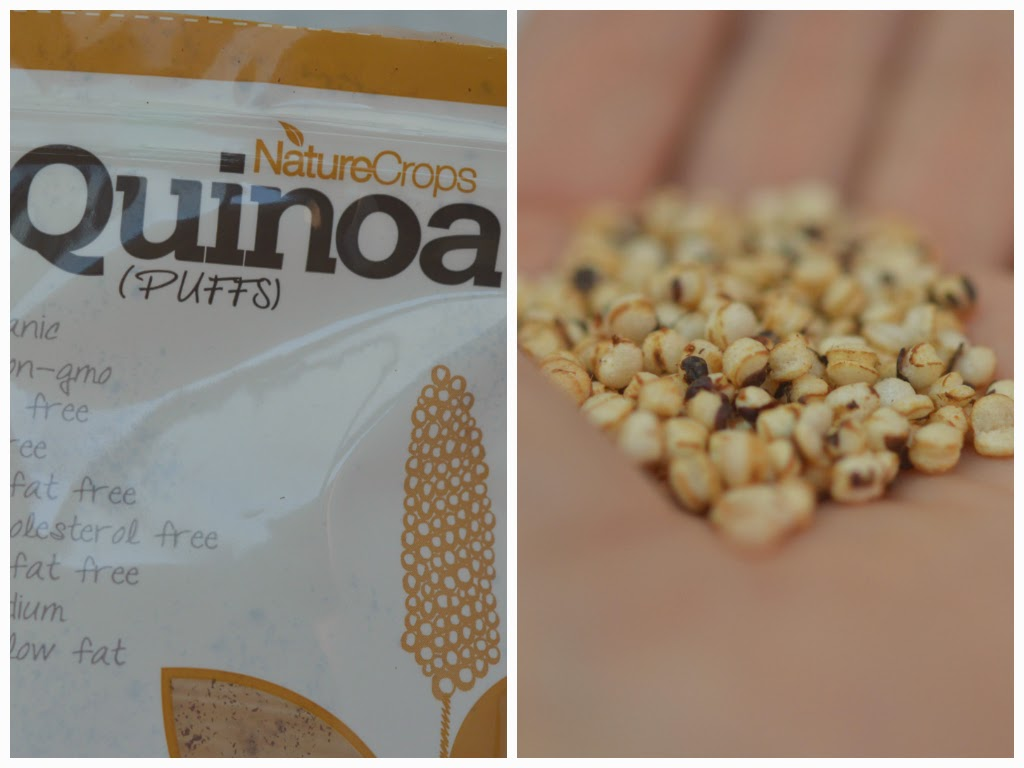 gepofte quinoa
