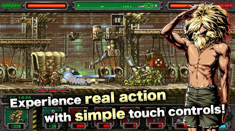 Game play Metal Slug Defense