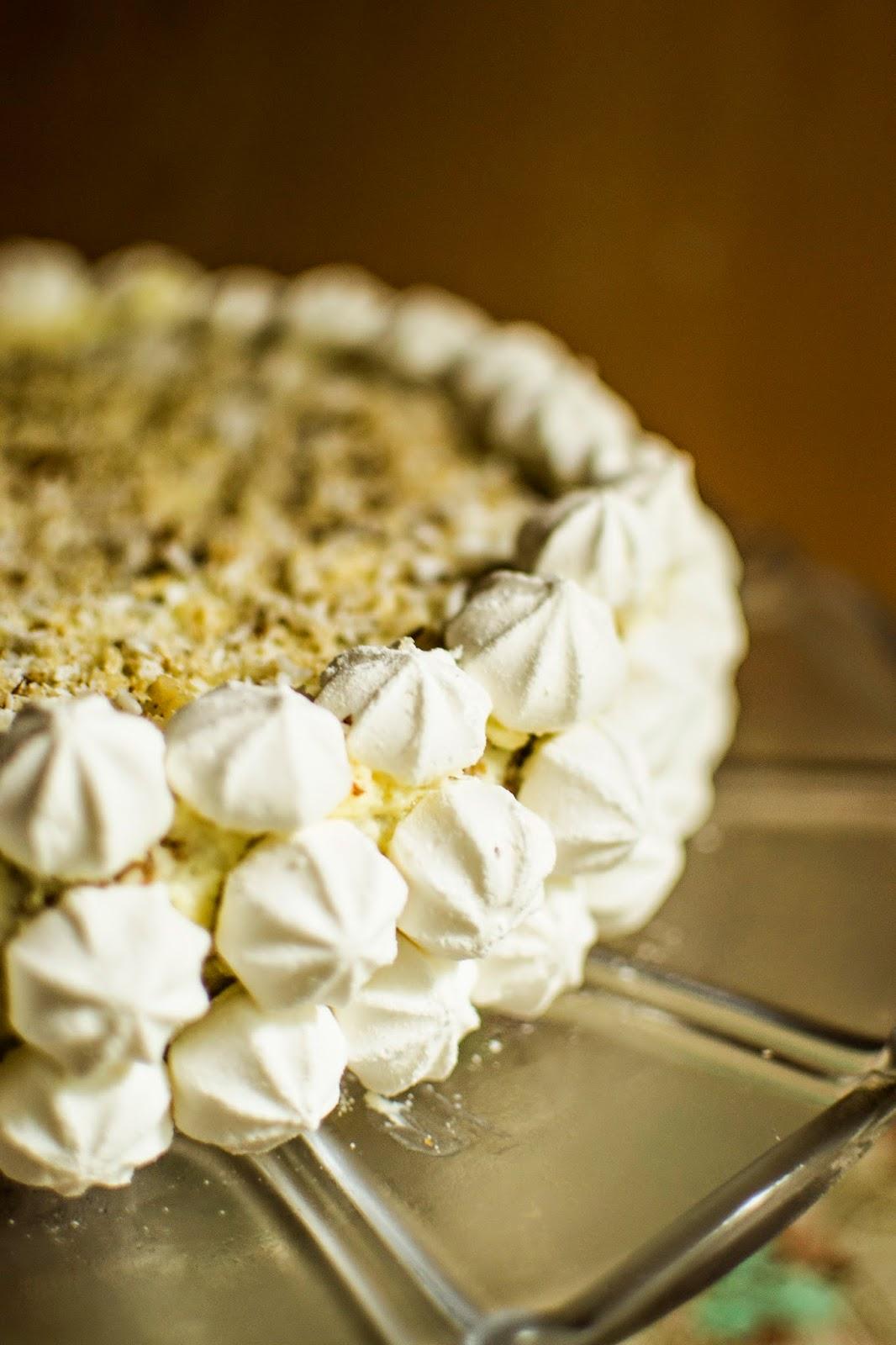 walnut birthday cake