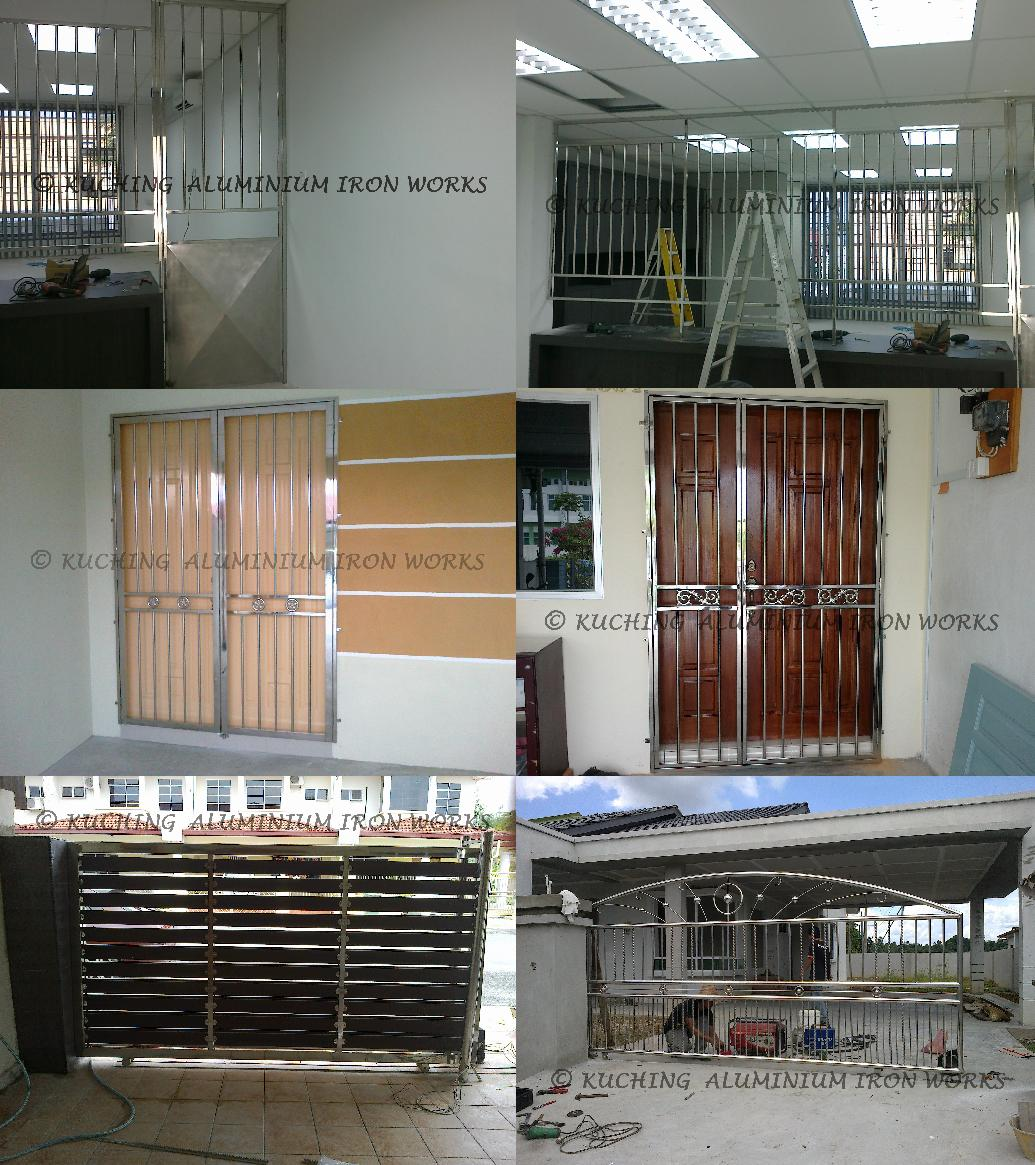 Stainless Steel Door Grille Kuching
