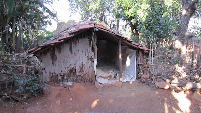 hut in which we slept night