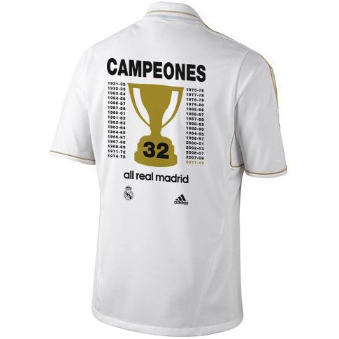camiseta Real Madrid Campeones de Liga 2012