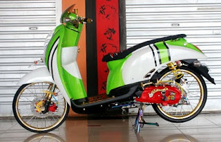modifikasi-honda-scoopy-simple