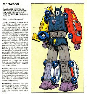 Menasor (ficha transformers)