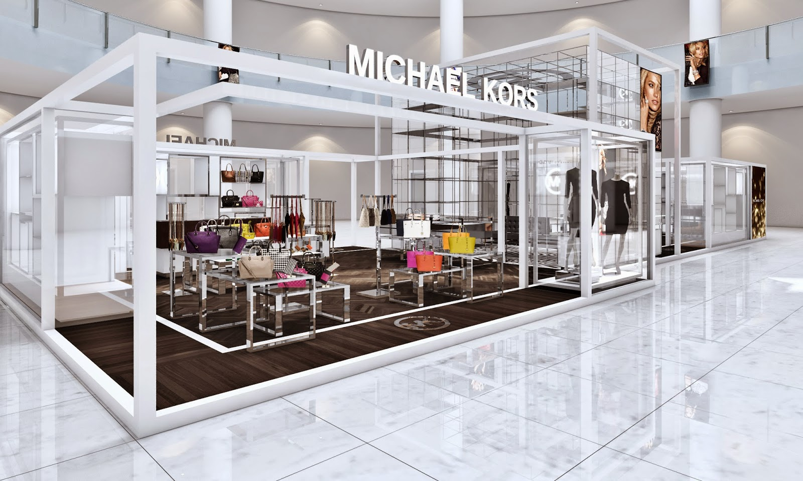 michael kors to open selma centric pop up shop in dubai the vanity. Black Bedroom Furniture Sets. Home Design Ideas