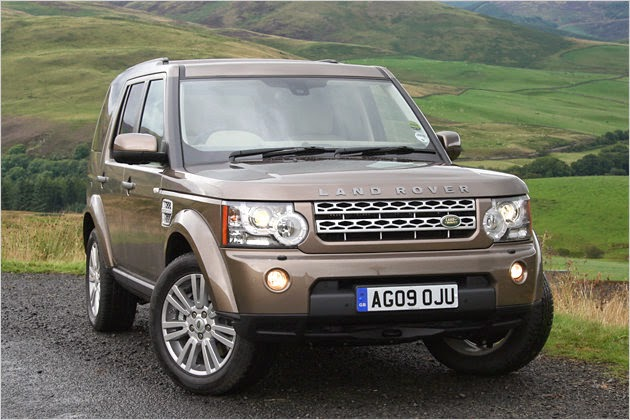 Mit neuem schickem Grill Der neue Land-Rover Discovery
