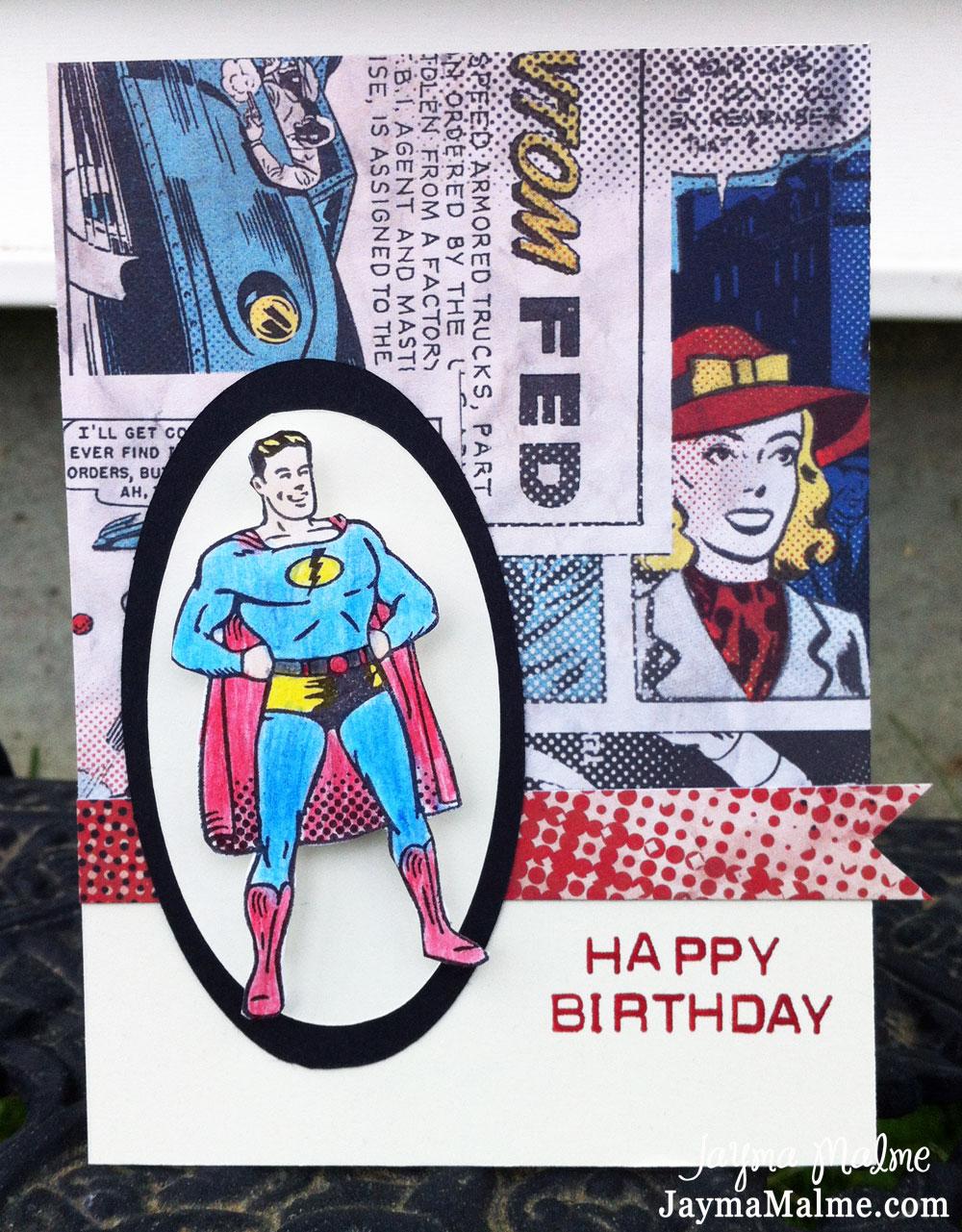 Открытка моему супергерою 50