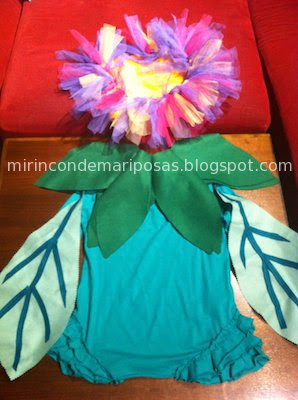 Ideas para disfraces - Página 3 Disfraz+de+flor+nin%CC%83a