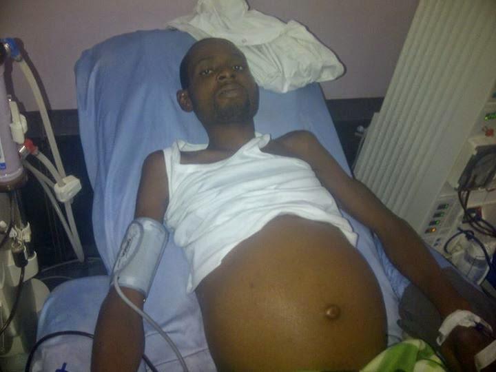 pregnant nigerian man