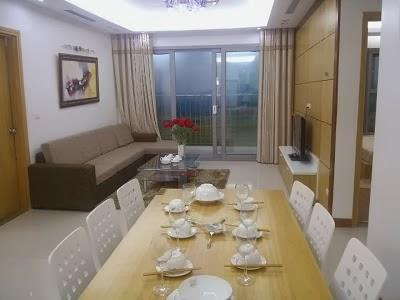 Phòng ăn chung cư Xuân Mai