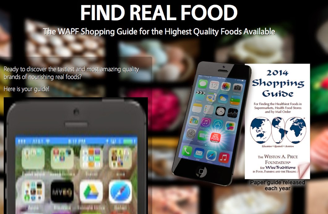 Find Real Food App