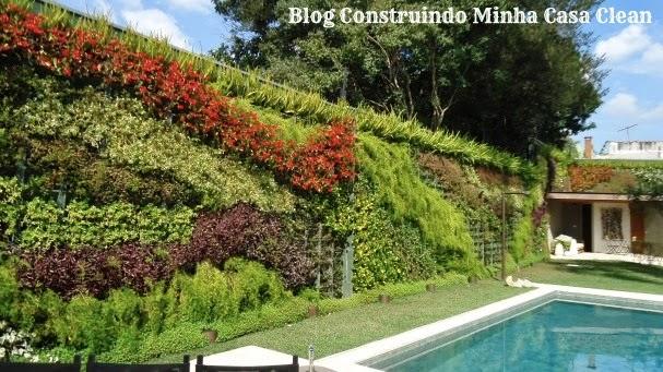 ideias jardins verticais : ideias jardins verticais: Casa Clean: 22 Jardins Verticais Maravilhosos! Veja Dicas e Ideias