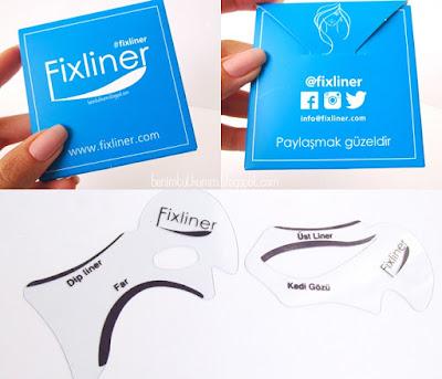 Fixliner - Eyeliner Sürme Kalıpları