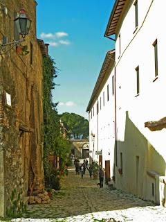 A street in Farfa, Sabina