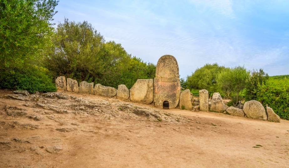 The Coddu Vecchiu Megalithic Tombs of Giants