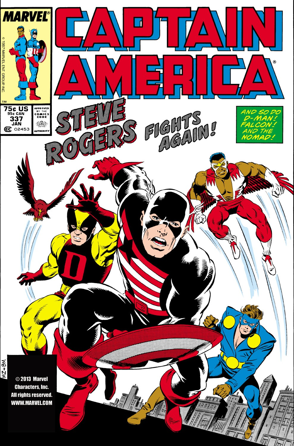 Captain America (1968) Issue #337 #266 - English 1