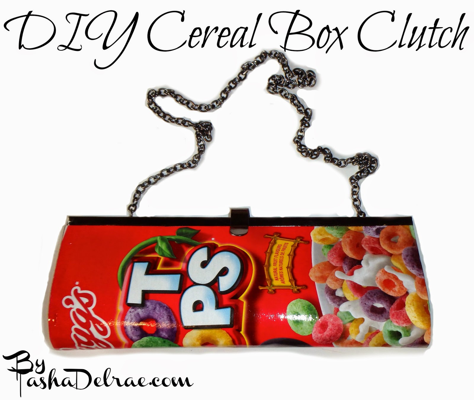 Clutch DIY, Cereal Box Fashion