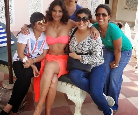 Sonam Kapoor Hot Bikini Pictures