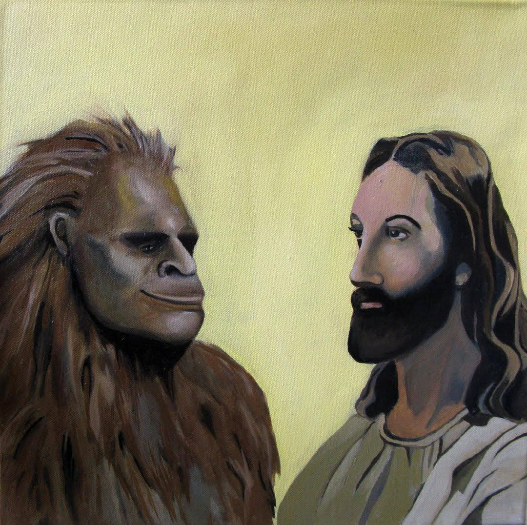 Jesus Meets Bigfoot is an
