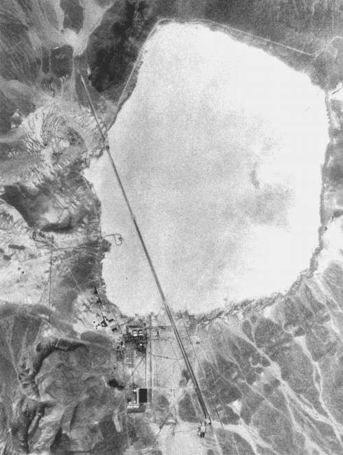 AREA 51, GROOM LAKE (NEVADA)
