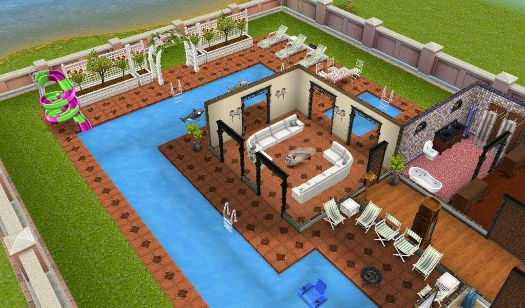 Download the sims freeplay para android genesis brasil for Sala de estar the sims 4