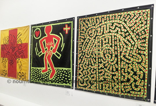 exposition   keith haring  the political line