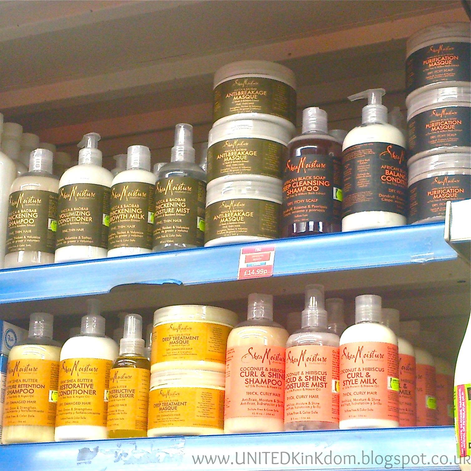 UNITED KinKdom: Shea Moisture Finally in UK Shops! - photo#34