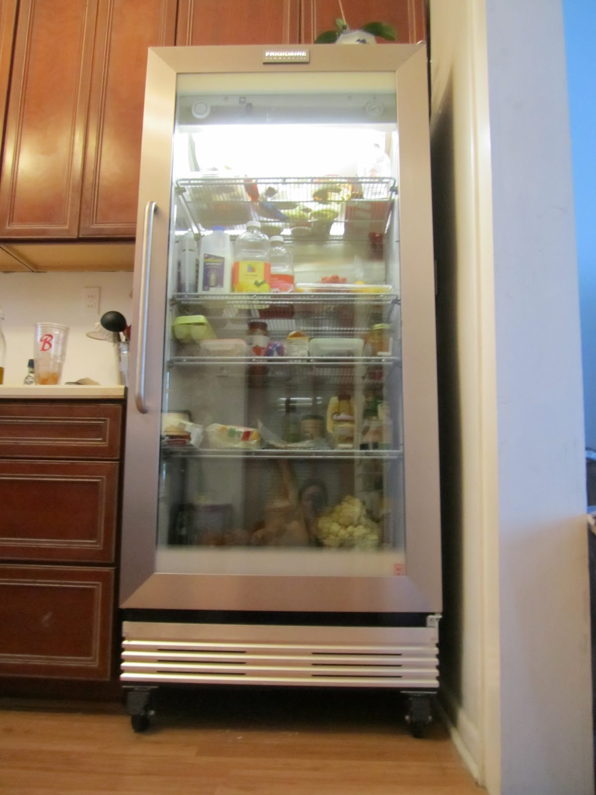 bywater boo the fridge is in. Black Bedroom Furniture Sets. Home Design Ideas