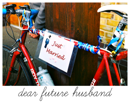 dear future husband: letters to the future man in my life