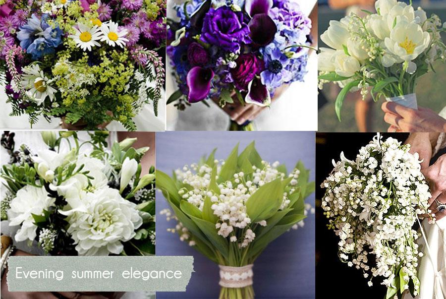 White Wedding Flowers In September : Blue mason jar studio summer flower inspiration