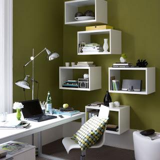 como fazer a decoração de um escritório simples
