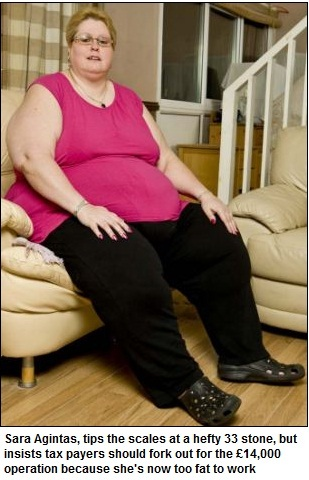 The Celebrities: 'I'm too fat to work': Jobless mother-of ...