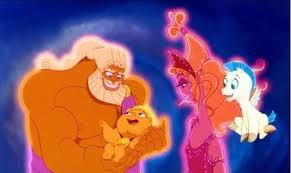 Zeus and Hera Hercules 1997 animatedfilmreviews.filminspector.com